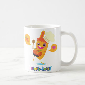 Pinpin carrot and its carrotte cake coffee mug