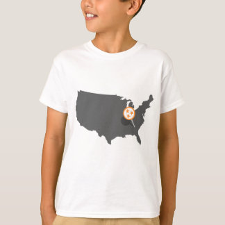 PINPOINT Knoxville Tennessee T-Shirt