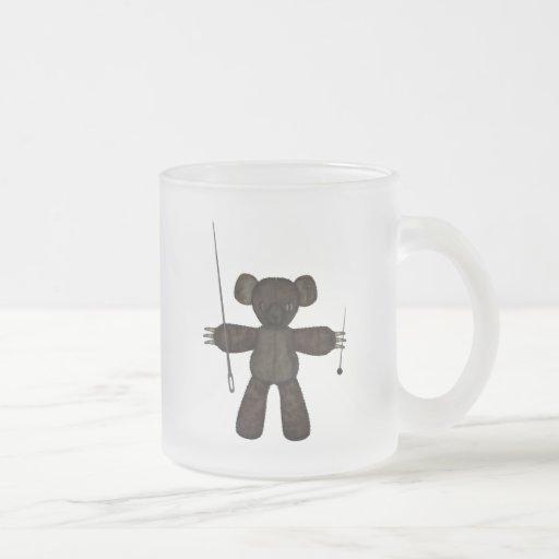 Pins & Needles 3D Bear Mug