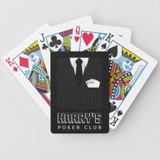 Pinstripe Suit Bicycle® Casino Poker Club Cards