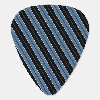 Pinstripes blue black white diagonal stripes pick