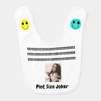 Pint Size Joker: Cafeteria, Steak, And Lobster Bib
