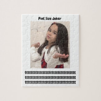 Pint Size Joker: Cafeteria, Steak, And Lobster Jigsaw Puzzle