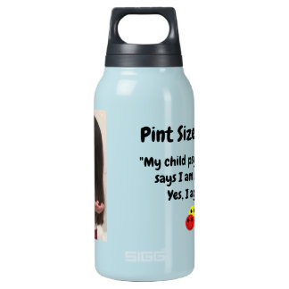 Pint Size Joker: Child Psychologist Special Insulated Water Bottle
