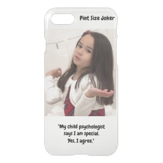 Pint Size Joker: Child Psychologist Special iPhone 8/7 Case