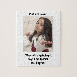 Pint Size Joker: Child Psychologist Special Jigsaw Puzzle