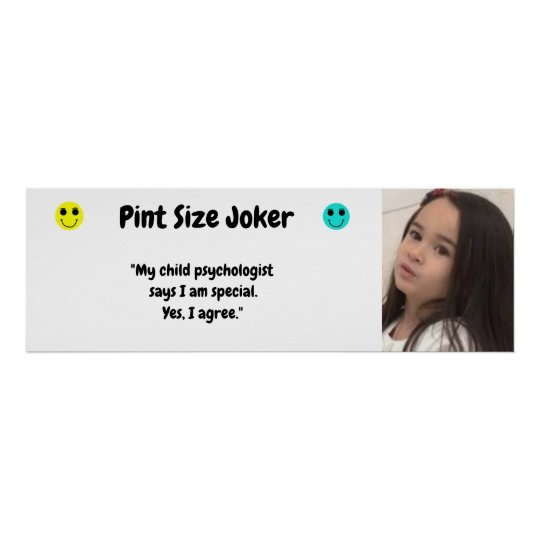 Pint Size Joker: Child Psychologist Special Poster
