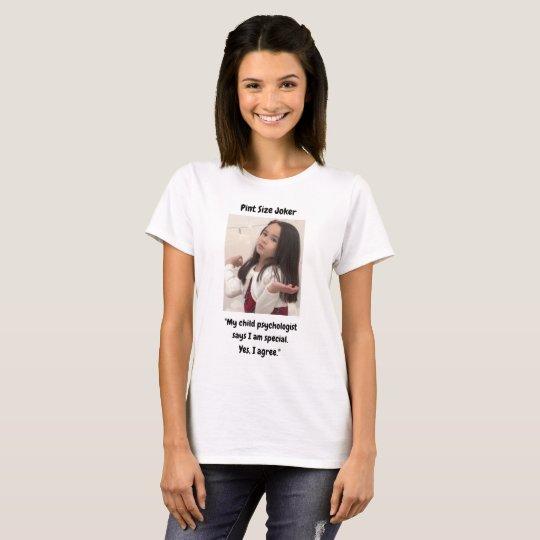 Pint Size Joker: Child Psychologist Special T-Shirt