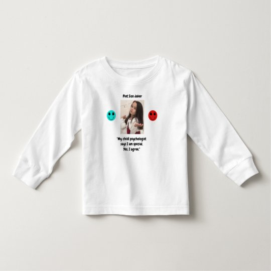 Pint Size Joker: Child Psychologist Special Toddler T-shirt