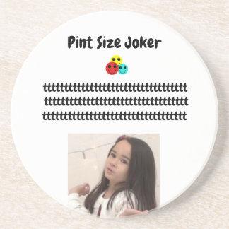 Pint Size Joker Design: Adult-Sized Booster Seat Coaster