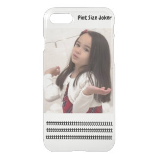 Pint Size Joker Design: Adult-Sized Booster Seat iPhone 8/7 Case