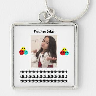 Pint Size Joker Design: Adult-Sized Booster Seat Keychain