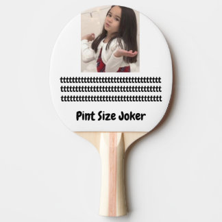Pint Size Joker Design: Adult-Sized Booster Seat Ping Pong Paddle