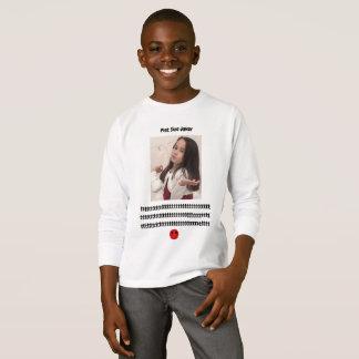 Pint Size Joker Design: Adult-Sized Booster Seat T-Shirt