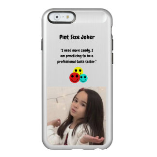 Pint Size Joker Design: Candy Taste Tester Incipio Feather® Shine iPhone 6 Case