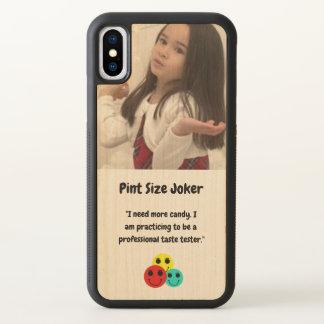 Pint Size Joker Design: Candy Taste Tester iPhone X Case
