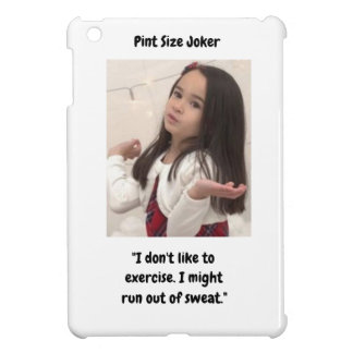 Pint Size Joker Design: Exercise And Sweat Case For The iPad Mini