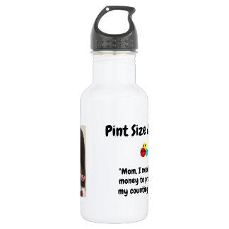 Pint Size Joker Design: Money And Counting Skills 532 Ml Water Bottle