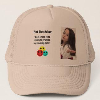 Pint Size Joker Design: Money And Counting Skills Trucker Hat