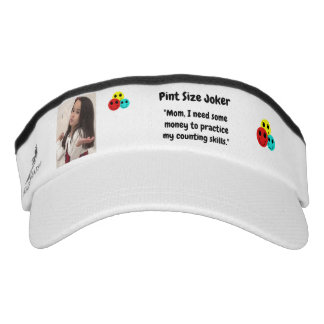Pint Size Joker Design: Money And Counting Skills Visor