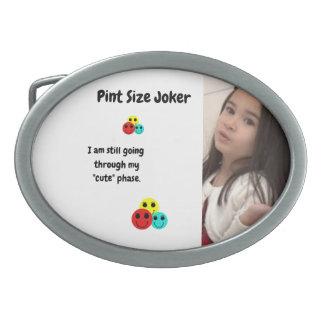 Pint Size Joker Design: My Cute Phase Belt Buckle