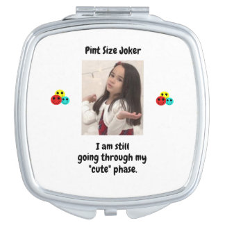 Pint Size Joker Design: My Cute Phase Compact Mirror