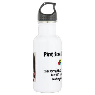 Pint Size Joker: Genetic Cuteness Not My Fault 532 Ml Water Bottle