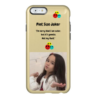 Pint Size Joker: Genetic Cuteness Not My Fault Incipio Feather® Shine iPhone 6 Case