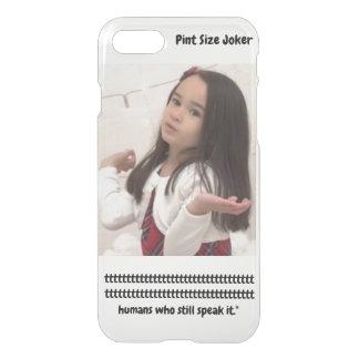 Pint Size Joker: Irish Setter Speaks iPhone 8/7 Case