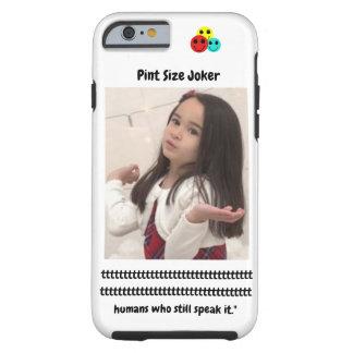 Pint Size Joker: Irish Setter Speaks Tough iPhone 6 Case