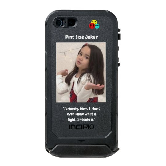 Pint Size Joker: Mom And Her Tight Schedule Incipio ATLAS ID™ iPhone 5 Case