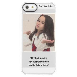 Pint Size Joker: Nickel For a Bath Permafrost® iPhone SE/5/5s Case