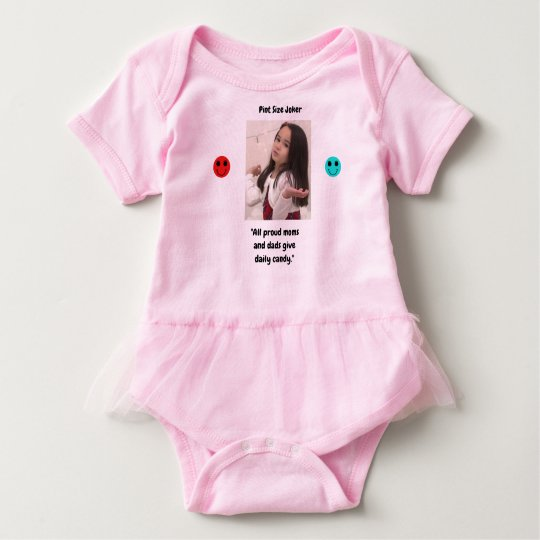 Pint Size Joker: Proud Moms and Dads And Candy Baby Bodysuit