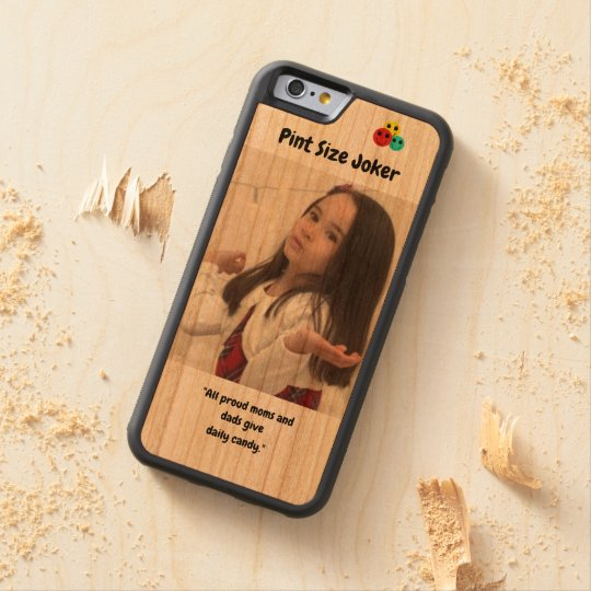 Pint Size Joker: Proud Moms and Dads And Candy Carved Cherry iPhone 6 Bumper Case