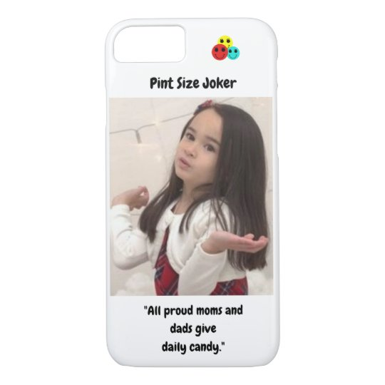 Pint Size Joker: Proud Moms and Dads And Candy Case-Mate iPhone Case