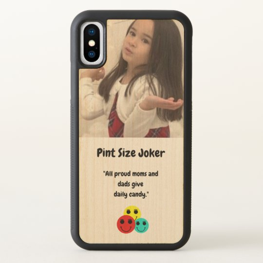 Pint Size Joker: Proud Moms and Dads And Candy iPhone X Case