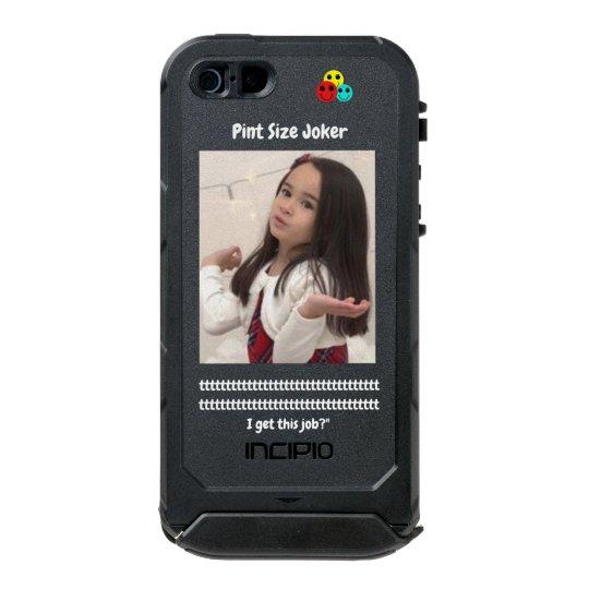 Pint Size Joker: Santa Claus Works 1 Day a Year Incipio ATLAS ID™ iPhone 5 Case