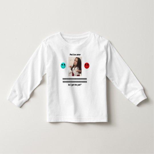 Pint Size Joker: Santa Claus Works 1 Day a Year Toddler T-shirt