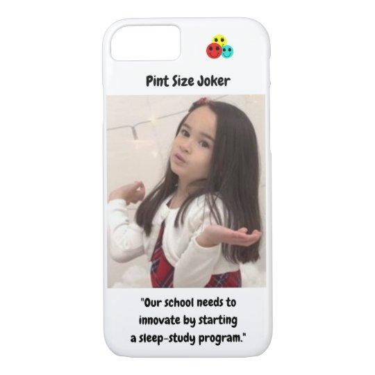 Pint Size Joker: School Sleep-Study Program Case-Mate iPhone Case