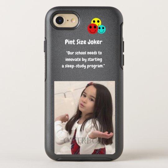 Pint Size Joker: School Sleep-Study Program OtterBox Symmetry iPhone 8/7 Case