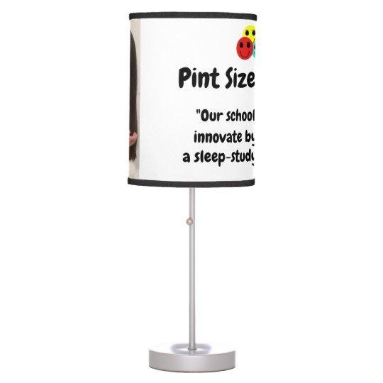 Pint Size Joker: School Sleep-Study Program Table Lamp