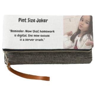 Pint Size Joker: Server Crashes And Homework Clutch