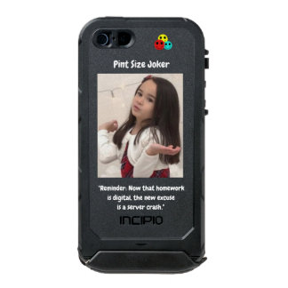 Pint Size Joker: Server Crashes And Homework Incipio ATLAS ID™ iPhone 5 Case