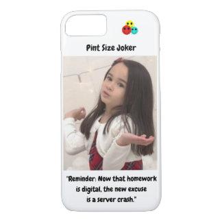 Pint Size Joker: Server Crashes And Homework iPhone 8/7 Case