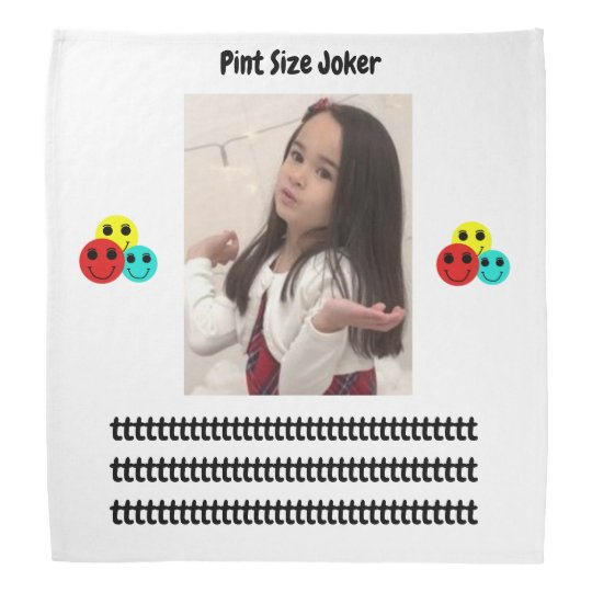 Pint Size Joker: Take Care Of My Allowance Bandana