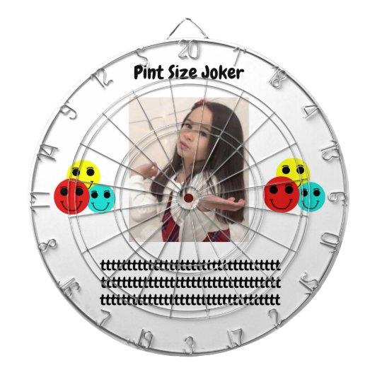 Pint Size Joker: Take Care Of My Allowance Dartboard