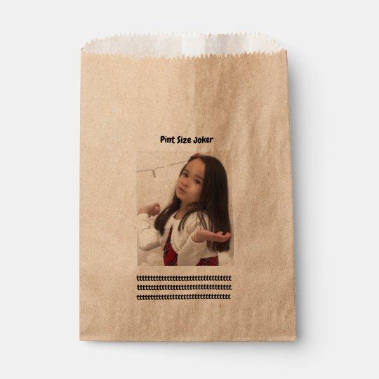 Pint Size Joker: Take Care Of My Allowance Favour Bag