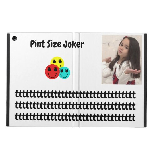 Pint Size Joker: Take Care Of My Allowance iPad Air Cover