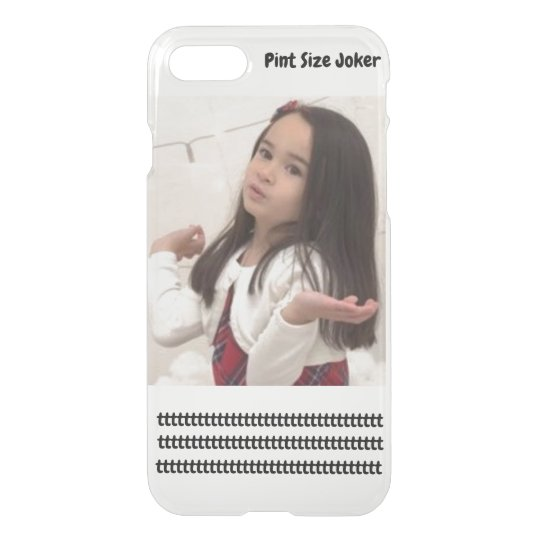 Pint Size Joker: Take Care Of My Allowance iPhone 8/7 Case