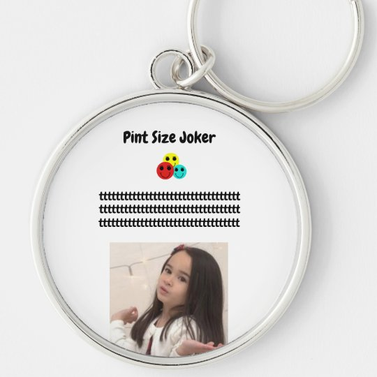 Pint Size Joker: Take Care Of My Allowance Keychain